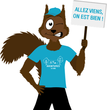 Mascotte Aventures Sud Gironde