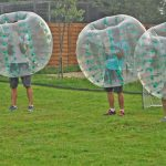 Partie de Bubble Foot