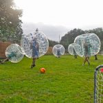 Partie de Bubble Football