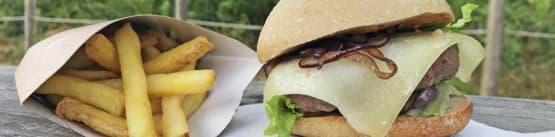 Le Food Truck du parc de loisirs Aventures Sud Gironde